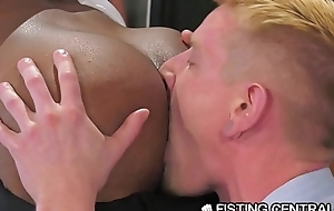 FistingCentral Interracial College Teachers Fuck &amp_ Fist In Class