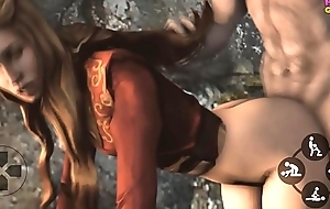 Game of Thrones Porno Cersei Lannister 3D Game