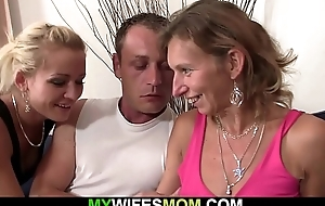 Hairy pussy mature mom