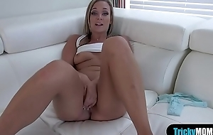 Busty stepmom shows ger stepson how a real fuck is done