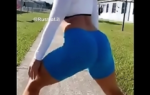Checkout her on IG @russialit Booty Twerking