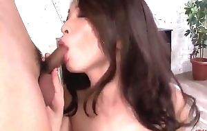 Mei Naomi is a milf on fire avid for these dicks - More at Japanesemamas com