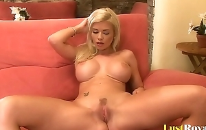 Horny Blonde Just Can'_t Stop Masturbating When She'_s Alone
