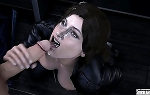 Lara Croft Facial Cumshot Ver.2 [Tomb Raider] Singularity4061
