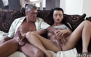 Daddy and partner'_s daughter alone old young girl bus What would you