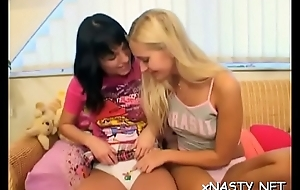 Lascivious teen sweetheart can'_t wait to sit on his powerful dick