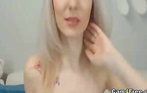 Beautiful Blonde Teen Fucks Herself Using Her Toy on Vpornlive.com