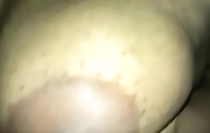 Mallu Curvy with beamy tits and dark areola with long nipples. Slo-mo video self taken