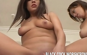 We are going to dominate this black studs big cock