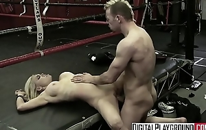 Hot blonde (Jesse Jane, Erik Everhard) fuck in the ring - Digital Playground