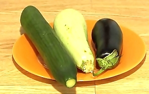 Keystone anal masturbation alongside wide vegetables, extreme inserts in a juicy ass and a gaping hole.