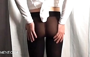 sissyformen blogger and S4M Network sexy Pantyhose strip tease