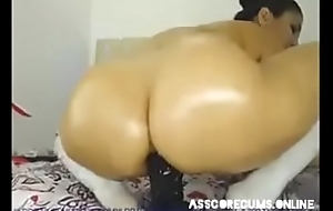 Babe fist her asshole with sever pussy juice. More on asscorecums.online