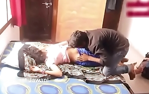 Indian friends romance in room ... Parents not at home