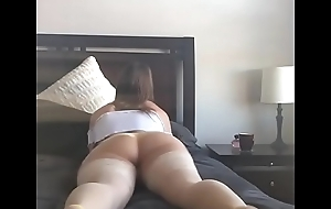 Showing of Her Tight Ass and Pussy