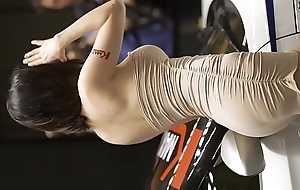 Hot Seoul Korean Racing Girl