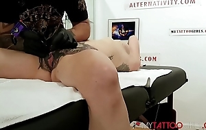 Watch Marie Bossette Getting an Extreme Tattoo on her CLIT